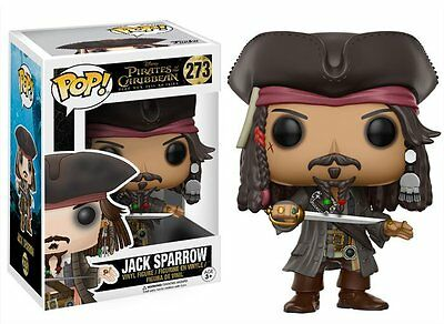 Funko POP ! 273 Disney Jack Sparrow -  Pirati dei Caraibi 2017 - NEW!!!