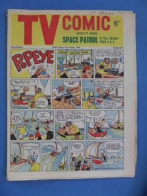 Tv Comic 672 1964 Fireball Xl5 Space Patrol Rare!