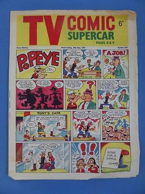 Tv Comic 650 1964 Fireball Xl5 Supercar Rare!