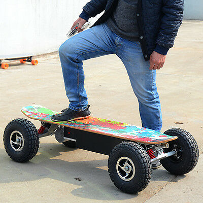 "Electric Skateboard Balancing Scooter 10"" Off-Road Wireless Control Surfboard"