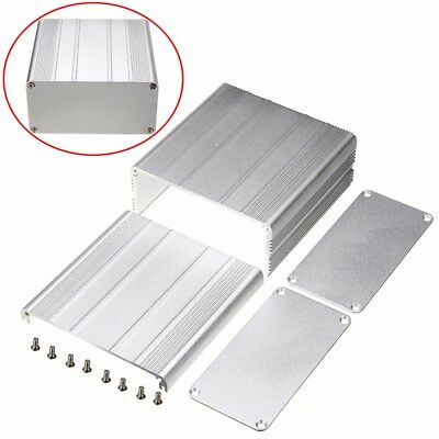 100*100*50mm Aluminum PCB Instrument Box Enclosure Electronic Project Case DIY