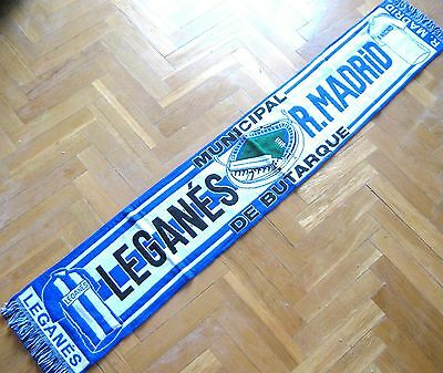 Bufanda Scarf Cd Leganes - Real Madrid En Estadio Butarque Liga 2016-2017 Schal