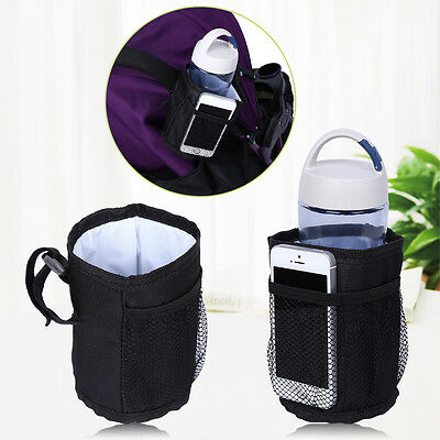 Baby Kid Stroller Bottle Bag Feeding Milk Warmer Storage Holder Carrier Cup Bag