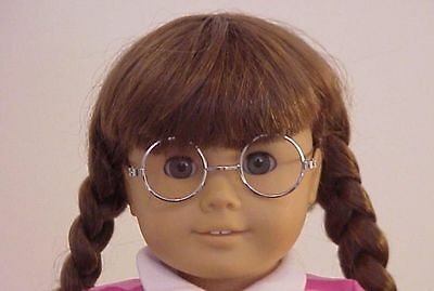 Silver  Glasses Fit American Girl Doll Molly