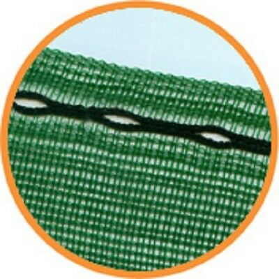 9m x 1m wide Horticultural Windbreak Shade Netting 50% with eyelets offcuts