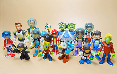 """LOT OF 15 Miles from Tomorrowland Callisto Family action Figure 2""""-4"""" h7"""