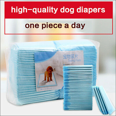 Absorbent Pet Diapers Dog Cat Indoor Toilet Training Pads size S-XL thick diaper