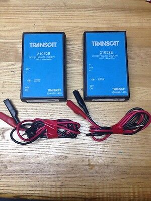 Transcat 21052E Power Supply, 24V, DC Loop, Tested And Working