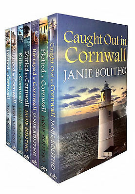 The Rose Trevelyan Series Janie Bolitho Collection 7 Books Set Framed Cornwall