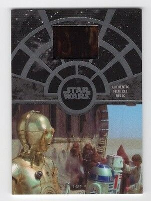 2017 Topps Star Wars 40th Anniversary FCC-9 Film Cel Relic Purchase of Droids