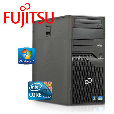 Fujitsu Esprimo P700 - Intel Core i3, 4GB DDR3, 320GB HDD, DVD-RW, Win7 Pro, PC