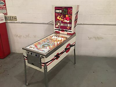 SERIAL #1!!!!  1970 Gottlieb Flip-A-Card PINBALL MACHINE Plug and Play - CHICAGO