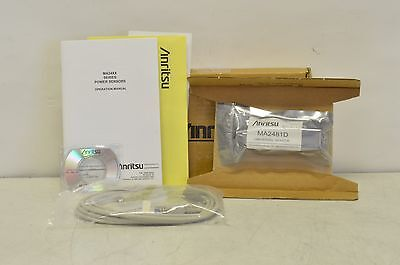 Anritsu MA2481D 10 MHz - 6 GHz Universal Average Power Sensor w/ Cable New