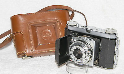 Kodak Retinette 35mm Camera Schneider Reomar 50mm f4.5 with Collapsible Lens