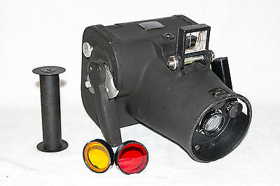 Original Wwii U.s. Army Air Force Graflex K-20 Aircraft Camera With Case/filters