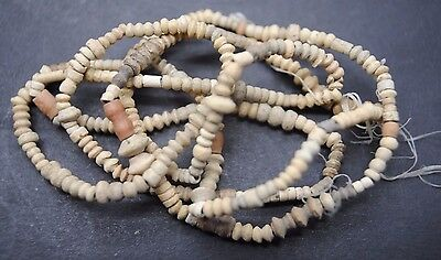 Ancient Egyptian Terracotta Coptic Period Necklace.