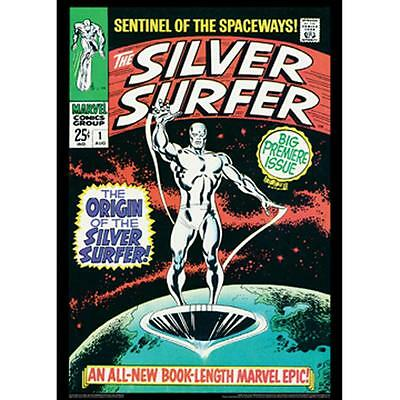"Vintage Marvel Silver Surfer #1 Poster 20""X28"" New, Free S&H"