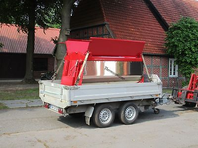 Thermocontainer, Thermosilo, Asphaltcontainer, Thermobox,Asphaltmulde
