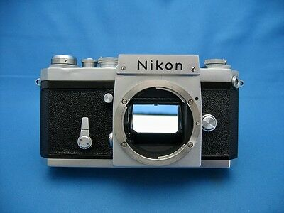 NIKON F 35mm VINTAGE SLR CAMERA BODY ONLY, NEW SEALS, 64xxxxx,1961 / AS-IS
