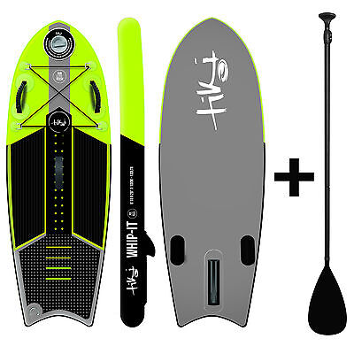 Tiki 6ft 10 Inflatable SUP + Paddle + Acc. Pack Whip-it Stand Up Paddle Board