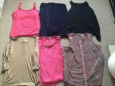 6 X NEXT ladies Maternity Tops Size 16, Great Condition