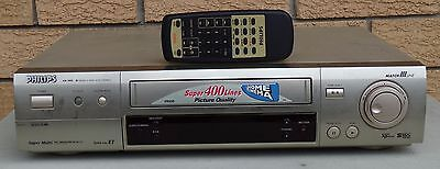 Philips VR 999 Worldwide VHS SVHS VCR MultiSystem