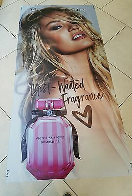 Victoria Secret Model, In Store Window Display VYNL POSTER ☆ LIFE SIZE ☆
