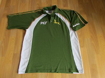 NOTTINGHAM / Notts Possibly CRICKET Player Shirt PKF Initials on Front ADULT XL