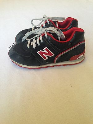 New Balance Toddler Boy Athletic Shoes Size 10 Black Red 574 Play Running