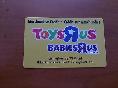 "Toys ""R"" Us $9.57 Value Merchandise Credit (Gift Card) *Free Shipping*"