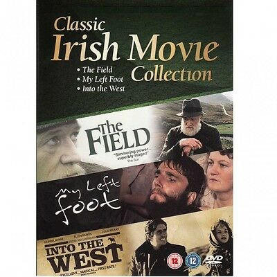 CLASSIC IRISH MOVIE COLLECTION: The Field-My Left Foot-Into the West   NEW DVD'S