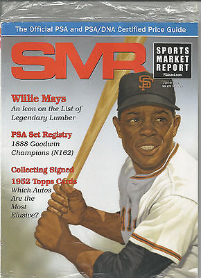 SPORTS MARKET REPORT, PSA PRICE GUIDE, June 2017 - Willie Mays