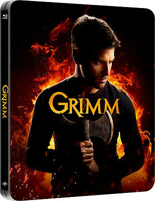 Grimm: Season Series 5 Blu ray Limited Edition Steelbook RB New Sealed