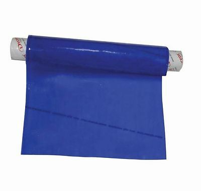 """Dycem Non-Slip Material Roll - Prevents Objects Sliding - 8"""" x 3-1/4 Foot - Blue"""