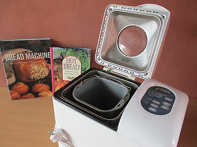 Breville Bakers Oven Bread Maker + 2 Books on Bread Making