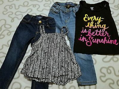 Old Navy Toddler Girls Size 3t Lot of Mixed Clothing