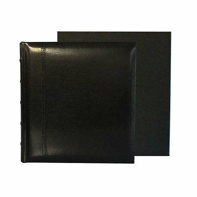 Glorious Leather 100 page Drymount Album Boxed