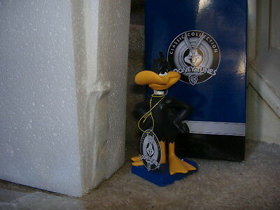 Daffy Duck   Warner Bros  Looney Tunes New Boxed Bobble Head Super Details Nice