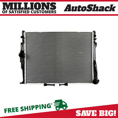 New Complete Direct Fit Aluminum Radiator fits BMW 128i 135i 325 328 330 3.0L