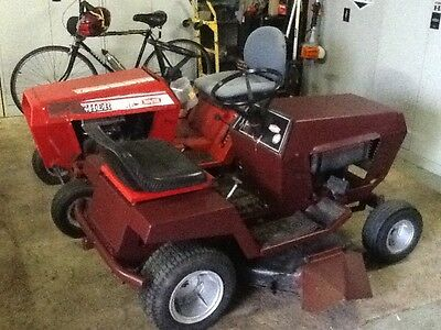 2 X Rover Ride-On Mowers