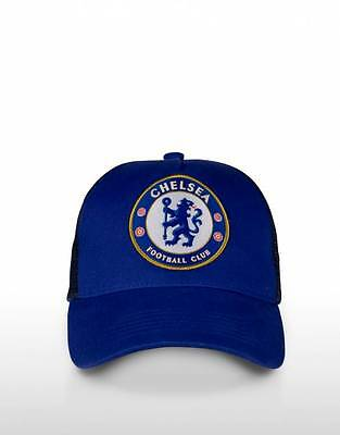 Chelsea FC Truckers Cap! EPL Football Soccer! Official Merchandise!
