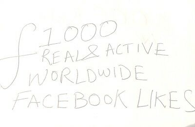 REAL Facebook likes