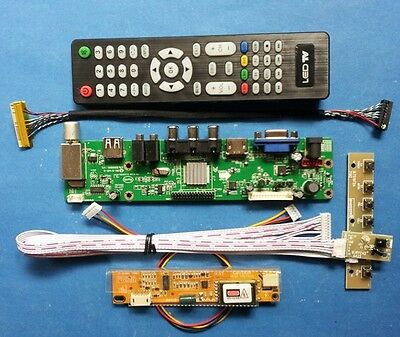 "HDMI VGA TV CVBS USB Audio Board for 15.4"" 1280x800 B154EW02 B154EW03 B154EW04"