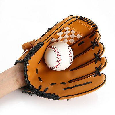 Baseball Gloves 10.5/11.5/12.5'' Softball Team Sports Left Hand  Training