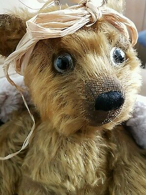 """Antique Bear Omega -1920's  Fully jointed - Mohair 15.5 """" ❤Rare Final reduction"""