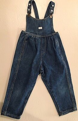 Rare Vintage Toddler/Girl Overalls by Baby Guess 80's - Size 4