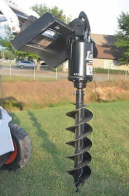"""Bobcat Skid Steer Attachment - Lowe BP210 Round Auger with 12"""" Bit - Ship $199"""