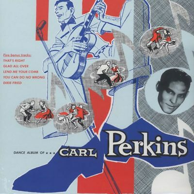LP - Carl Perkins - Dance Album Of Carl Perkins - RE, Rockabilly, Rock & Roll