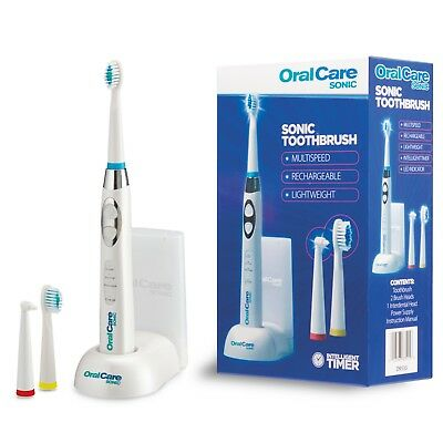Rechargeable Multi Speed Sonic Electric Toothbrush Plaque Removal by Oral Care