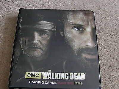 The Walking Dead Season 3 Part 2 Trading Cards and Binder Cryptozoic